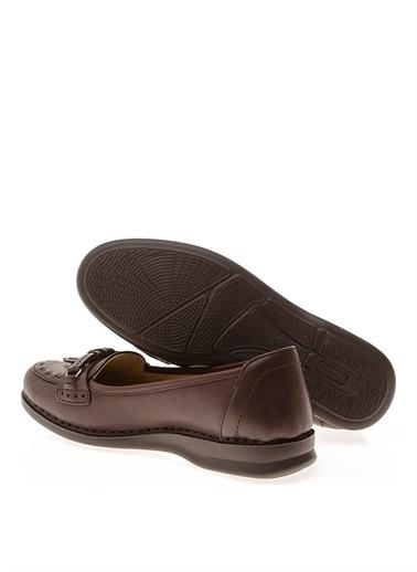Polaris Polaris Düz Ayakkabı Kahve